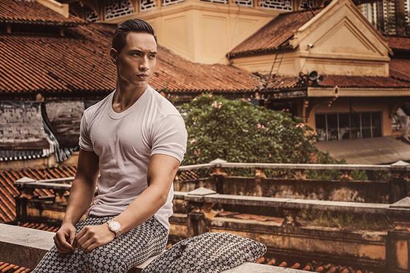 Kim Lý khoe vẻ điển trai trên tạp chí thời trang số 1 Myanmar 9