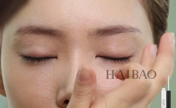 Trang điểm mắt màu cam 2