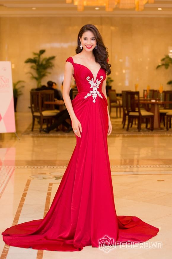 Hoa hậu Phạm Hương được vinh danh Người phụ nữ của năm 5