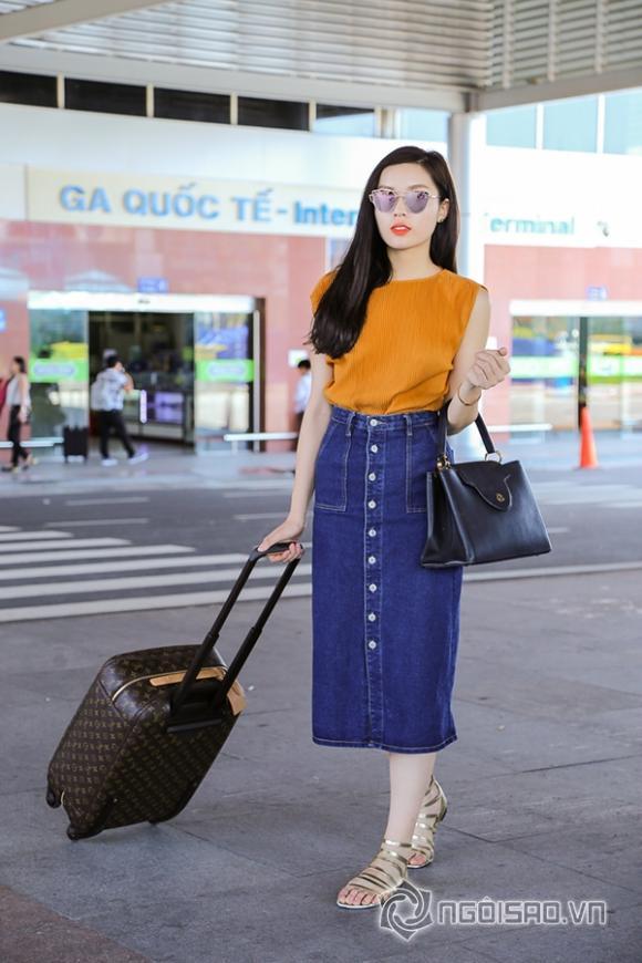 Hoa hậu Kỳ Duyên tới Nha Trang 6