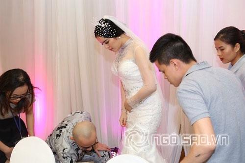 Ghen tỵ với những khoảnh khắc sao Việt được chăm sóc như 'nữ hoàng' 8