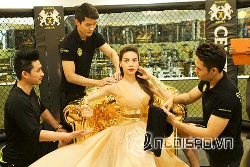 Ghen tỵ với những khoảnh khắc sao Việt được chăm sóc như 'nữ hoàng' 4