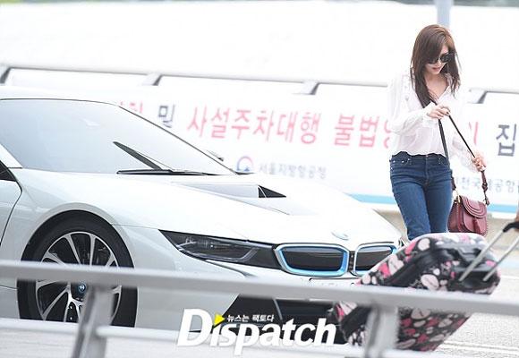Ha Ji Won,Ha Ji Won lái siêu xe,Ha Ji Won giàu có