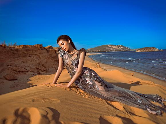 Hình ảnh nữ thần của Hoa hậu Kỳ Duyên  6