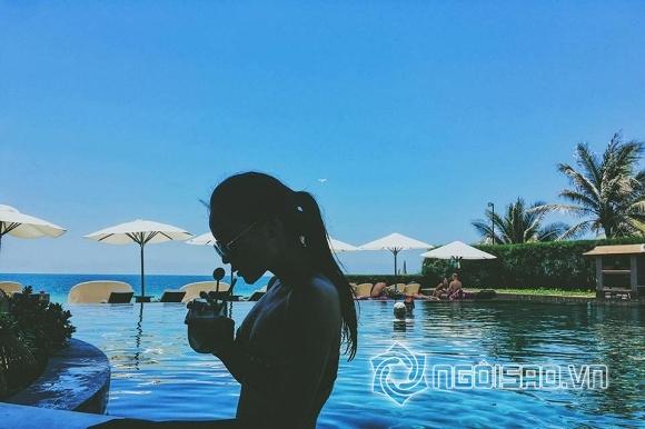 Hoa hậu Kỳ Duyên diện bikini 1