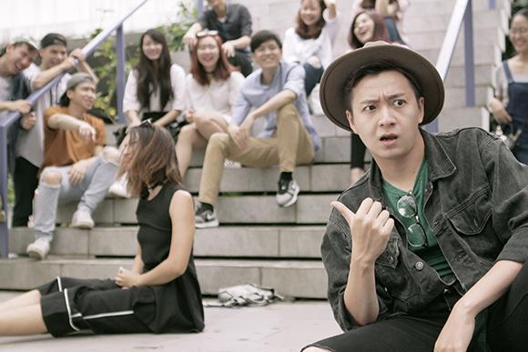 Khổng Tú Quỳnh, Ngô Kiến Huy, chàng Bắp, Lách thật phong cách