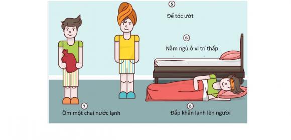 làm mát, làm mát cơ thể, làm mát khi ngủ, ngủ ngon, đánh bay nóng bức,