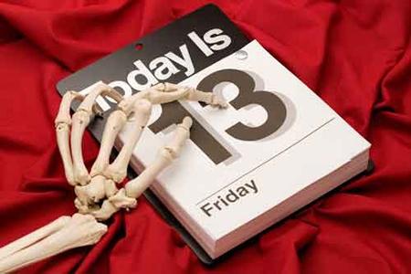 Thứ 6 ngày 13, Ngày xui xẻo, Nỗi sợ hãi, Thứ 6, Ngày 13