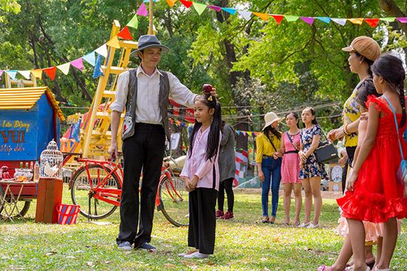 sao Việt, Hoài Linh, con nuôi Hoài Linh, Hoài Linh diễn xiếc