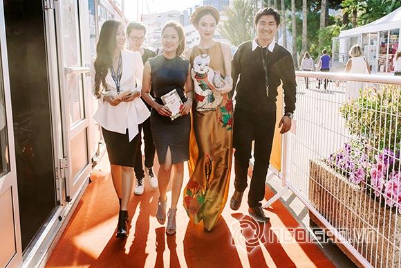 Angela Phương Trinh tới Liên hoan phim Cannes để làm gì 0