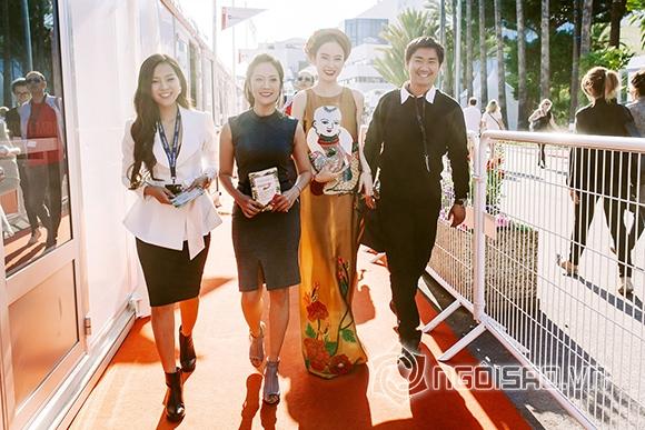 Angela Phương Trinh tới Liên hoan phim Cannes để làm gì 1
