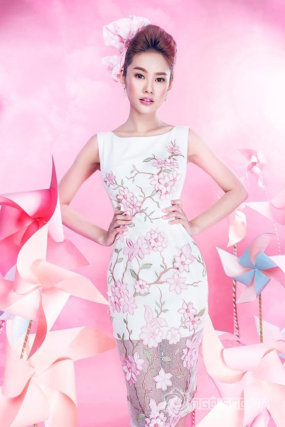 sao Việt, Linh Chi, người mẫu Linh Chi, gà cưng Vũ Khắc Tiệp, Linh Chi rời Venus