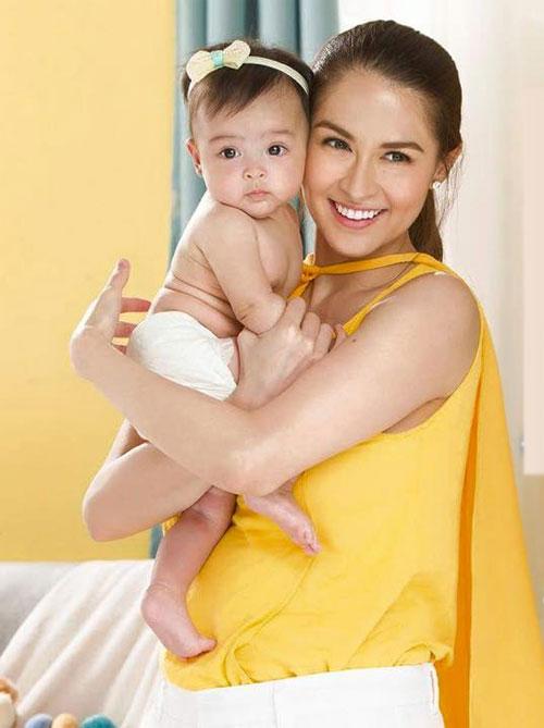 sao Philippines,mỹ nhân đẹp nhất Philippines,con gái sao Philippines,con gái Marian Rivera