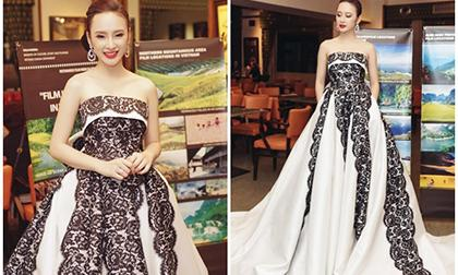 sao Việt, Angela Phương Trinh, bà mẹ nhí, Angela Phương Trinh thử trang phục, NTK Đỗ Mạnh Cường