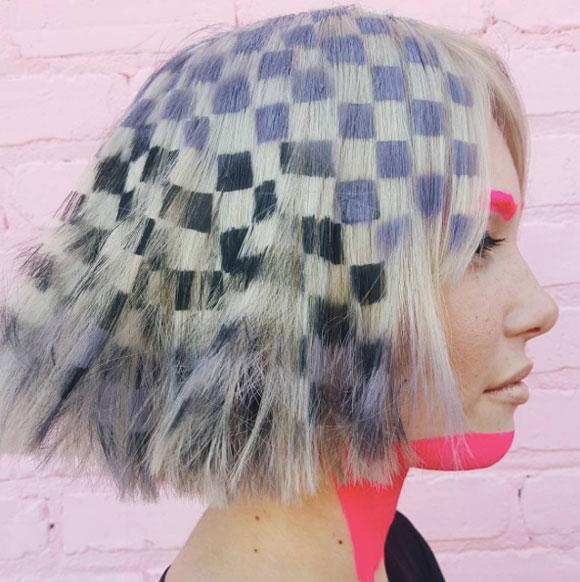 Nhuộm tóc nhiều màu sắc rực rỡ - trào lưu mới của giới trẻ thế giới 0