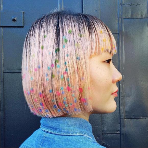 Nhuộm tóc nhiều màu sắc rực rỡ - trào lưu mới của giới trẻ thế giới 1