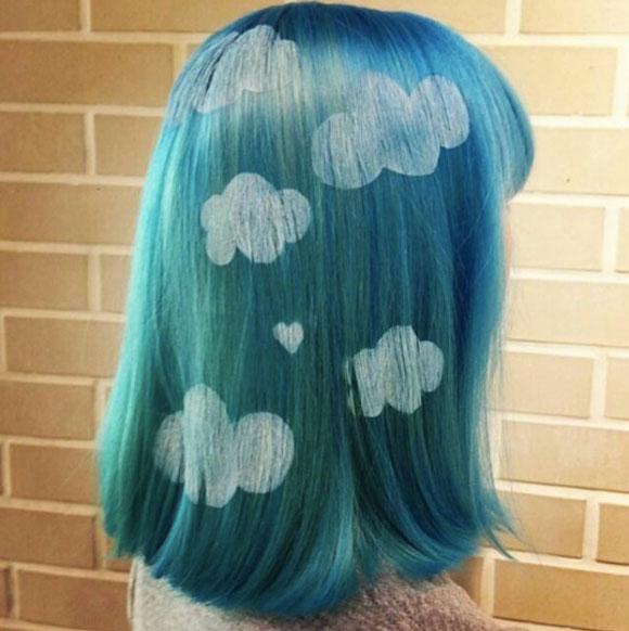 Nhuộm tóc nhiều màu sắc rực rỡ - trào lưu mới của giới trẻ thế giới 3