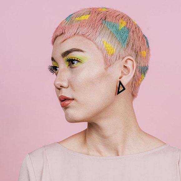 Nhuộm tóc nhiều màu sắc rực rỡ - trào lưu mới của giới trẻ thế giới 4
