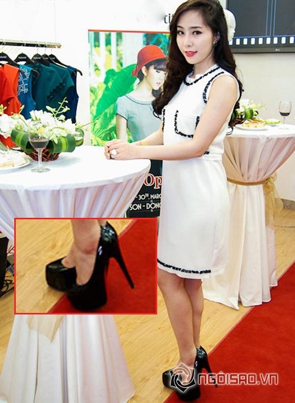 mỹ nhân việt giày cao gót 15