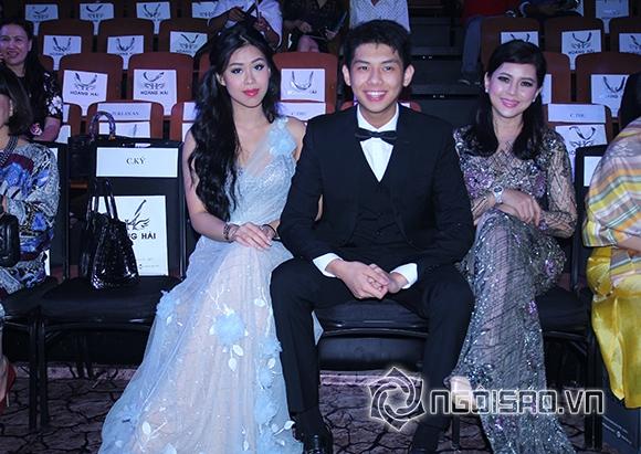 Mẹ chồng Hà Tăng diện váy xuyên thấu đi xem thời trang 7