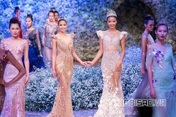 Mẹ chồng Hà Tăng diện váy xuyên thấu đi xem thời trang 0