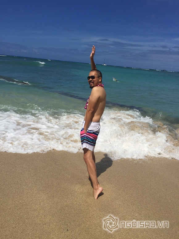 Nhà thiết kế đức hùng,nghệ sĩ ưu tú đức hùng,đức hùng du lịch hawaii
