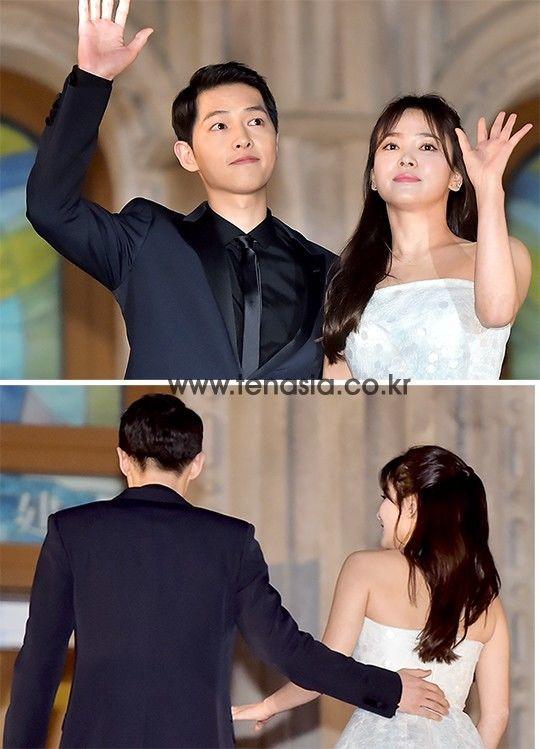 Song Joong Ki và Song Hye Kyo 1