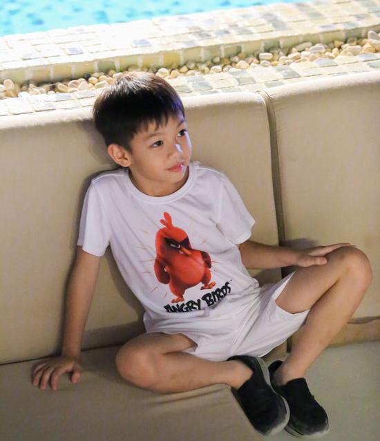 Hồ Ngọc Hà và con trai  1