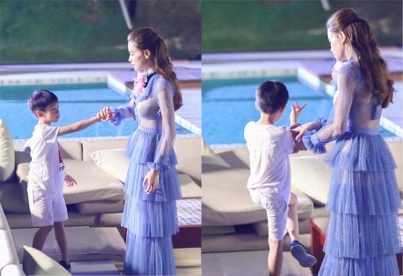 Hồ Ngọc Hà và con trai  3
