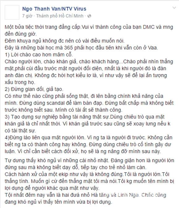 sao Việt, Ngô Thanh Vân, đả nữ màn ảnh Việt, Angela Phương Trinh chào Ngô Thanh Vân, tâm thư Ngô Thanh Vân, Ngô Thanh Vân bóng gió Angela Phương Trinh