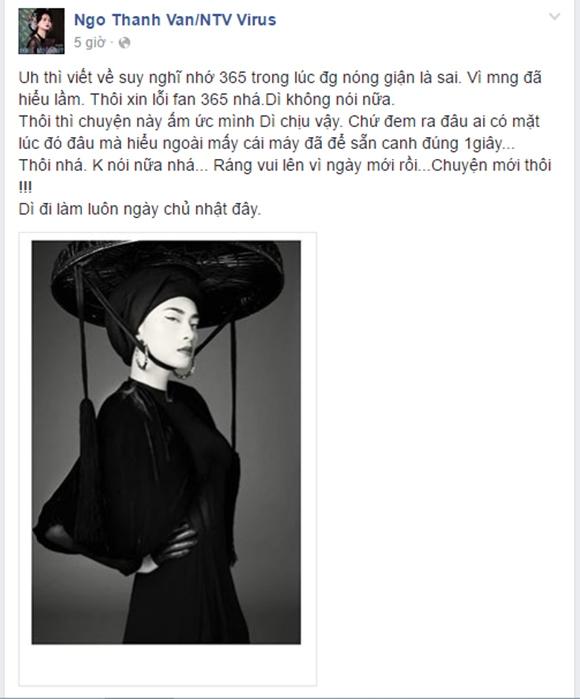 sao Việt, Ngô Thanh Vân, đả nữ, Ngô Thanh Vân chỉ trích Angela Phương Trinh, Ngô Thanh Vân xin lỗi