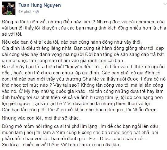 <a target='_blank' href='https://www.phunuvagiadinh.vn/tuan-hung.topic'>Tuấn Hưng</a> chửi fan  5
