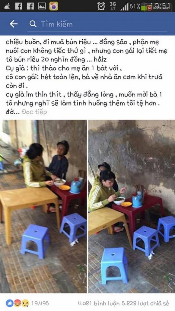 facebook, chuyện bịa đặt trên facebook, con bất hiếu, con dâu và mẹ chồng, mạng xã hội