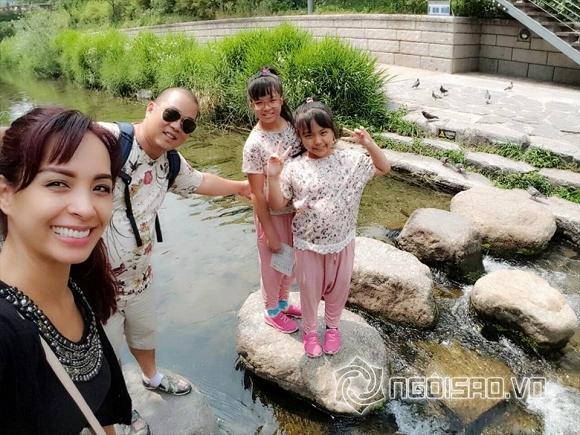 sao việt du lịch, sao Việt du lịch nước ngoài, gia đình sao Việt, sao Việt