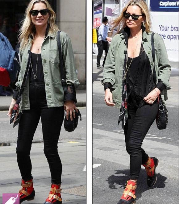 sao Hollywood,Kate Moss,sao Hollywood xuống sắc,Kate Moss bệ rạc