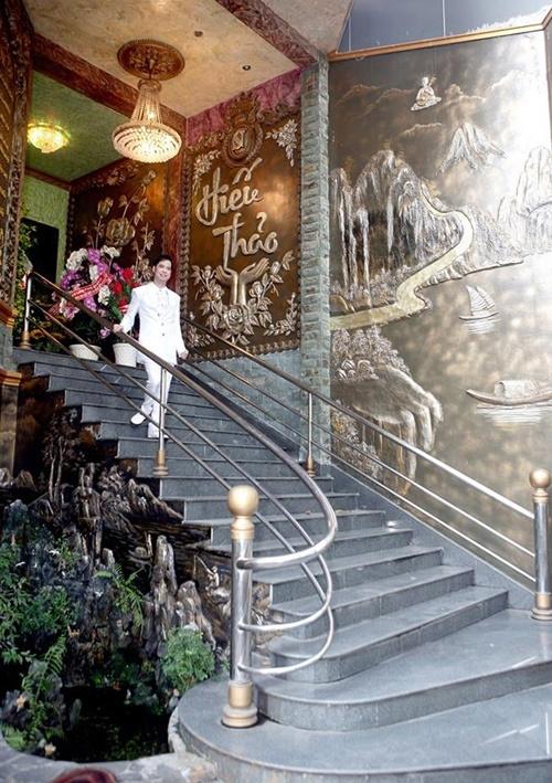 nha ngoc son 10 ngoisao.vn Tham quan bên trong căn biệt thự hơn 100 tỷ của Ngọc Sơn