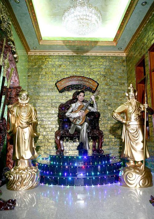 nha ngoc son 4 ngoisao.vn Tham quan bên trong căn biệt thự hơn 100 tỷ của Ngọc Sơn