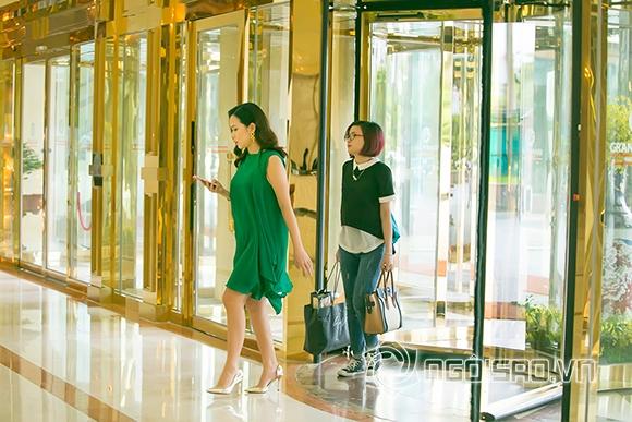 Lưu Hương Giang thon gọn sau một tháng sinh con 1