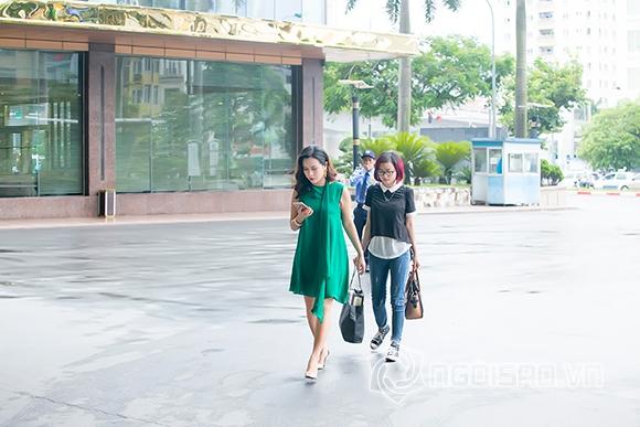 Lưu Hương Giang thon gọn sau một tháng sinh con 2