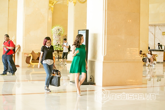 Lưu Hương Giang thon gọn sau một tháng sinh con 7