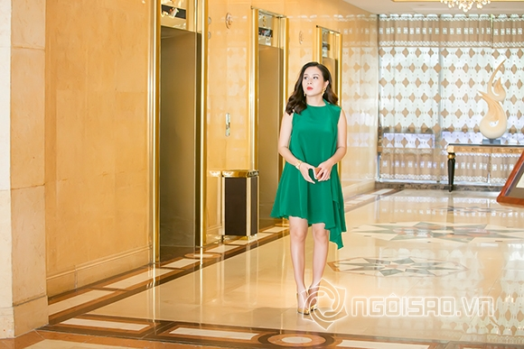 Lưu Hương Giang thon gọn sau một tháng sinh con 9