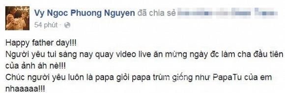Sao Việt ngày của cha  0