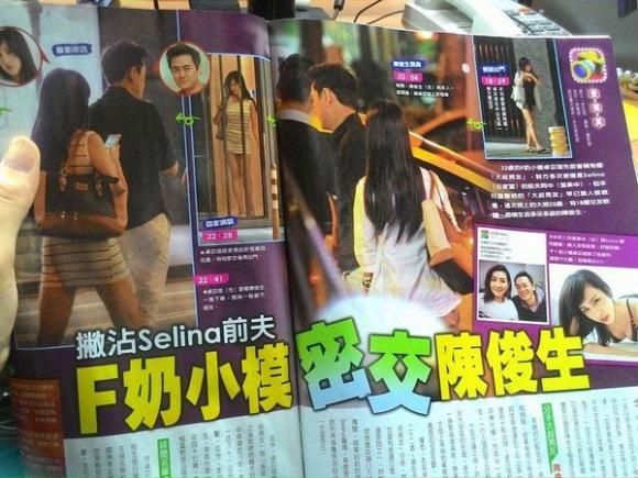 sao Hoa ngữ,chồng cũ Selina,sao Hoa ngữ ly hôn,Trương Thừa Trung