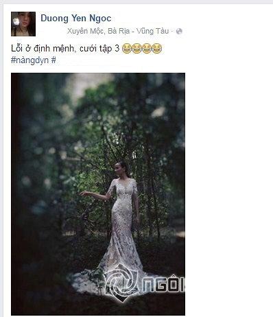 Dương Yến Ngọc, người mẫu Dương Yến Ngọc, đám cưới Dương Yến Ngọc, sao Việt