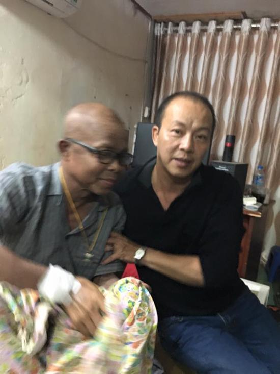 Hán Văn Tình, sức khỏe Hán Văn Tình, Hán Văn Tình ung thư, sao Việt, sao việt ung thư