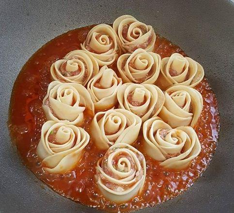 bánh bao, cách làm bánh bao, bánh bao hoa hồng, hướng dẫn làm bánh bao, hướng dẫn nấu ăn, cách nấu ăn