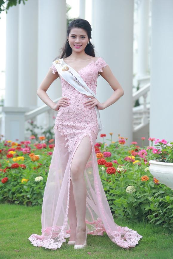 Thí sinh Hoa hậu Bản sắc Việt toàn cầu 3
