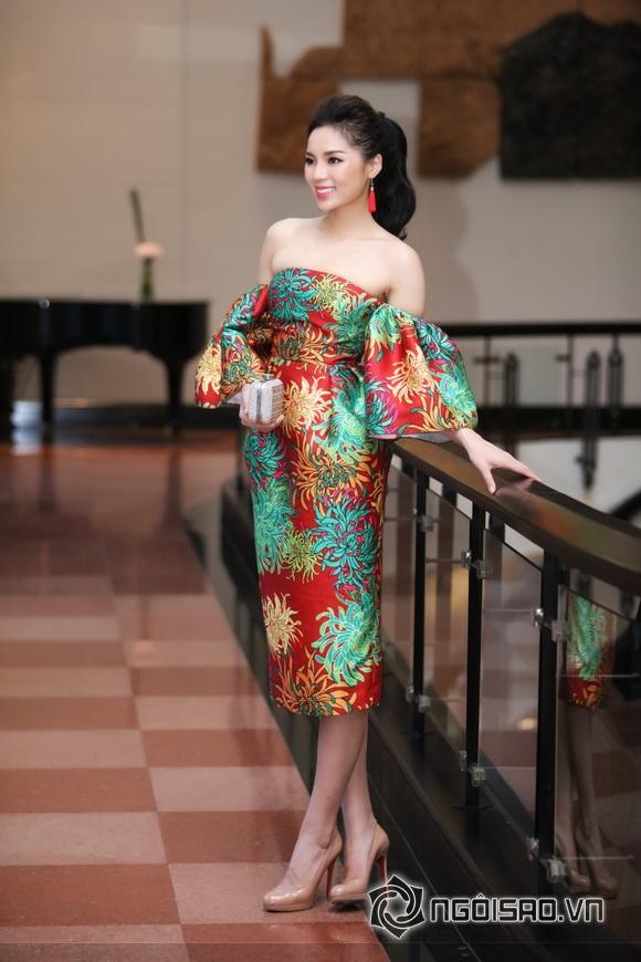Hoa hậu Kỳ Duyên trể nãi 5