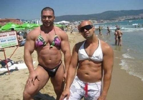 ảnh cười, ảnh bikini độc dị, ảnh lạ trên biển, bikini độc