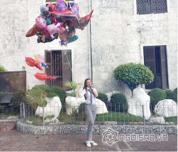 Cùng Hoa hậu Ngọc Diễm khám phá cảnh đẹp ở Philippines